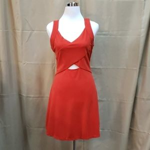 NWT Orange Short Summer Dress size s, m, l
